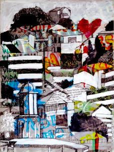 08/06/2016 : Valparaiso 1 - technique mixte A4